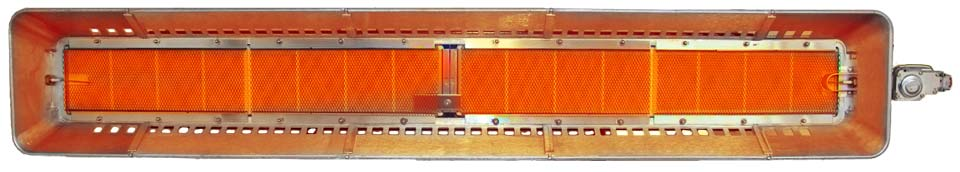 large infrared space heater